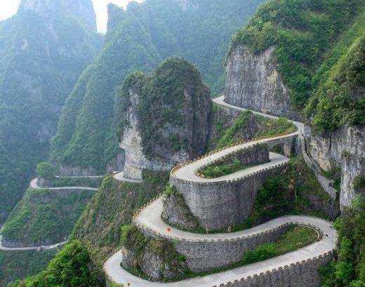 天下第一公路奇观:就在中国,有99个急转弯,私家车禁止驶入..